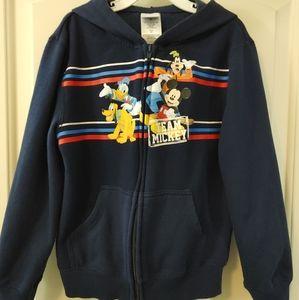 Disney Zip Up Hoodie